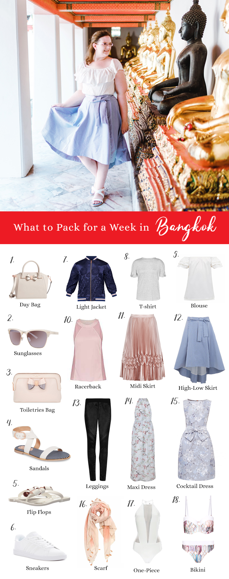 What to Pack for a Trip to Bangkok (And Songkran)