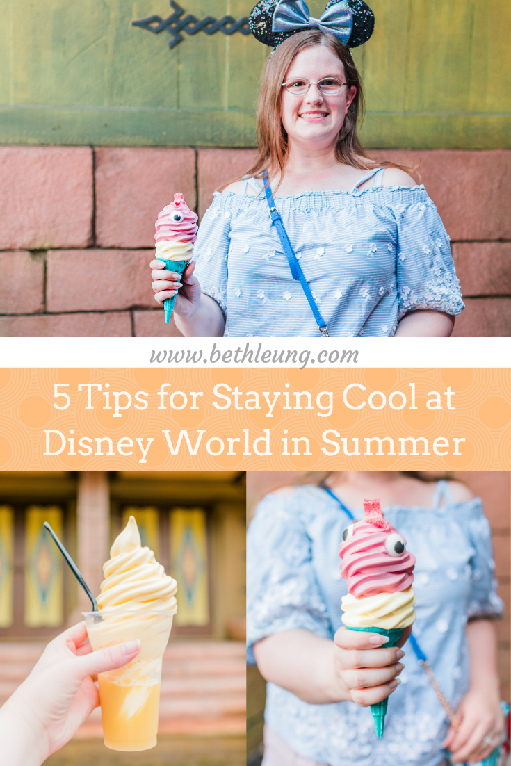 5 Tips for Staying Cool at Disney World